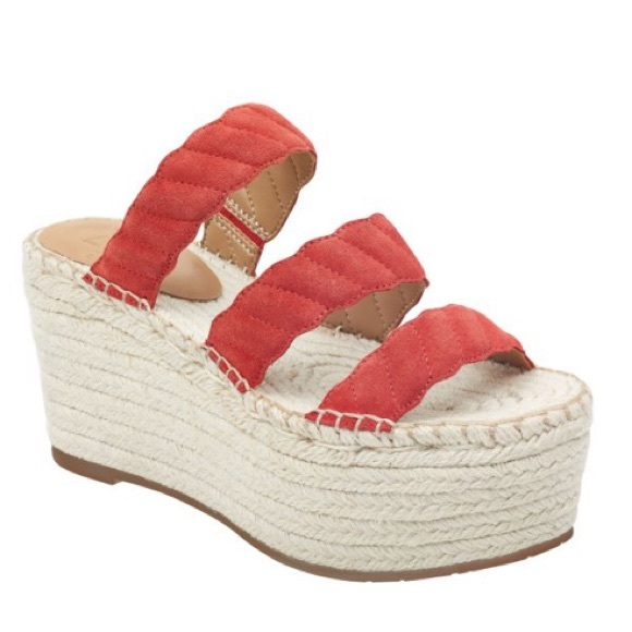 47045790cea Rosie Red Leather Espadrille Sandal Marc Fisher